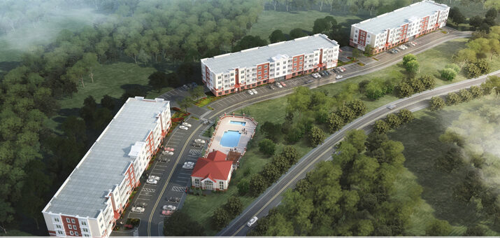Construction to Permanent financing of 140 rental units with a clubhouse, pool, and parking in                          Paramus, New Jersey
